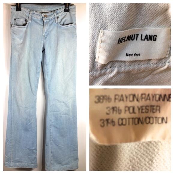 Helmut Lang Denim - Helmut Lang Jeans